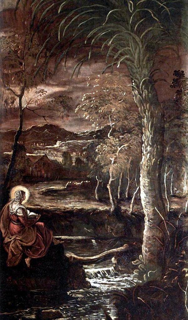 Tintoretto_Santa Maria Egiziaca_Venezia, Scuola Grande di San Rocco