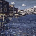 Vassily Kandinsky_ Venise N. 4_ Tempera su cartone, cm 40,5 x 56_ lascito Nina Kandinsky 1981_Service de la documentation photographique du MNAM Centre Pompidou, MNAM CCI