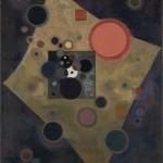 Vassily Kandinsky_Akzent in Rosa_1926_Olio su tela cm 100,5 x 80,5_ Donazione Nina Kandinsky, 1976_Service de la documentation photographique du MNAM Centre Pompidou, MNAM‐CCI