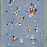 Vassily Kandinsky_Bleu de ciel_1940_Olio su tela, cm 100 x 73_Donazione Nina Kandinsky, 1976_ Service de la documentation photographique du MNAM Centre Pompidou, MNAM CCI