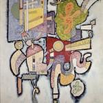 Vassily Kandinsky_Complexité simple_1939_Olio su tela, cm 100,5 x 82_Dono della Société des Amis du Musée national d'art moderne, 1959