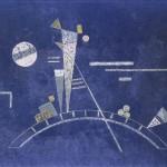 Vassily Kandinsky_Fragil_1931_Tempera su cartone, cm 34,7 x 48,4_Lascito Nina Kandinsky, 1981