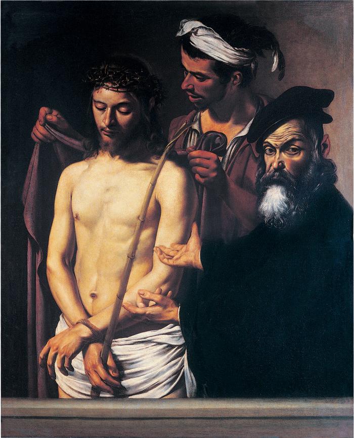 Caravaggio_Ecce homo_Genova Musei di strada nuova, Palazzo bianco