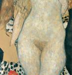 Gustav Klimt_Adamo ed Eva (incompiuto)_1917‐18_Olio su tela, cm 173 x 60. Vienna, Belvedere © Belvedere, Vienna