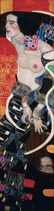 Gustav Klimt_Salomè_1909_Olio su tela, cm 178 x 46. Venezia, Ca' Pesaro_Galleria Internazionale d'Arte Moderna ©2014 Foto Scala, Firenze