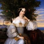 Charlotte von Rothschild dipinto di Moritz Oppenheim