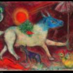 Marc Chagall_ La mucca con l'ombrello_ 1946_ olio su tela_ New York, The Metropolitan Museum of Art_ Bequest of Richard S. Zeisler, 2007 (2007.247.3) © Chagall ®, by SIAE 2014