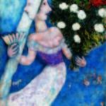 Marc Chagall_ La sposa a due facce_1927_ olio su tela_ Collezione Privata © Chagall ®, by SIAE 2014