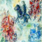 Marc Chagall_Don Chisciotte_1974_ olio su tela_Collezione Privata © Chagall ®, by SIAE 2014