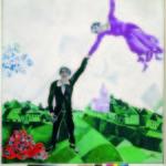Marc Chagall_La passeggiata_1917‐1918_ olio su tela_State Russian Museum, San Pietroburgo © Chagall ®, by SIAE 2014