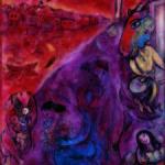 Marc Chagall_Resurrezione in riva al fiume_1947_olio su tela originale_Collezione Privata © Chagall ®, by