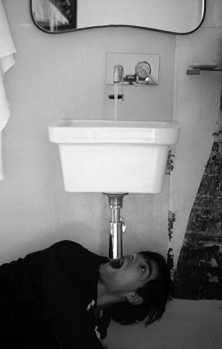 Massimo Pastore_ Riflesso Idrostatico di Pasolini_ stampa ai sali d'argento_ cm 19 x 29 ca_-edizione di 5-1. Courtesy l'artista
