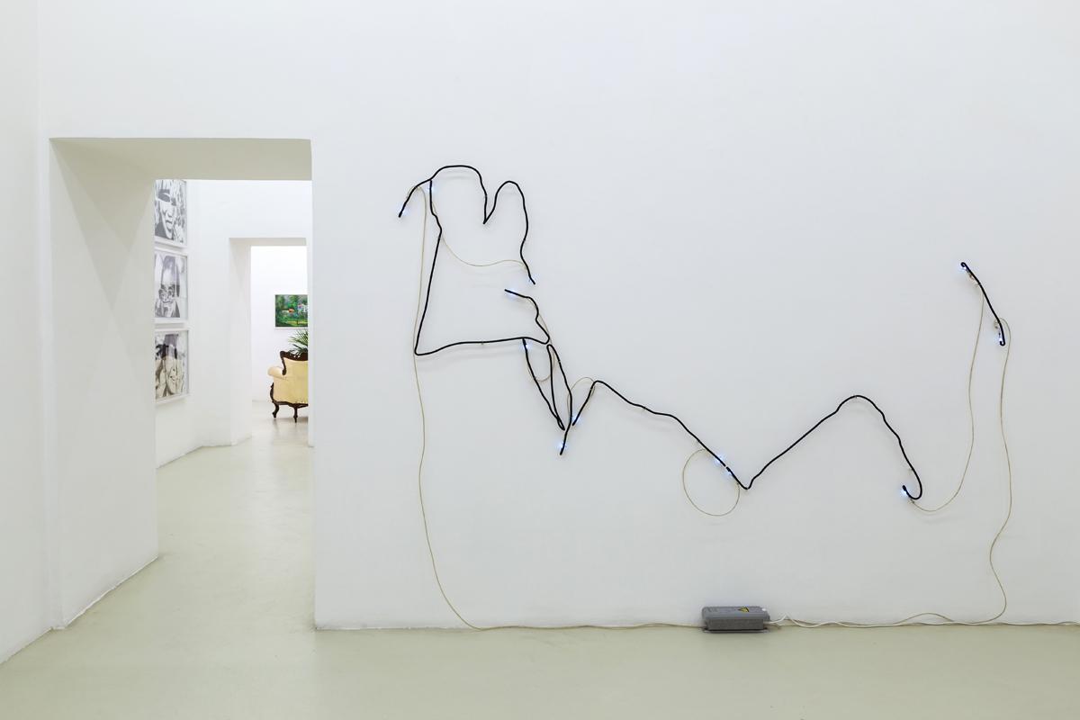 Vedovamazzei_ Next to normal_ 2016_ veduta della mostra_ Courtesy Galleria Umberto Di Marino_ Napoli, Italy_ ph Danilo Donzelli
