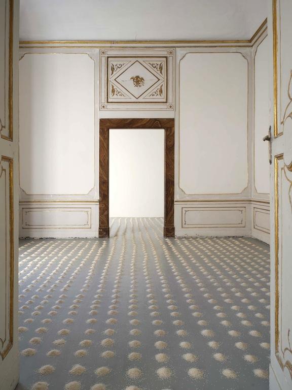 Wolfgang Laib_ Galleria Alfonso Artiaco, Napoli_nov-dic 2016